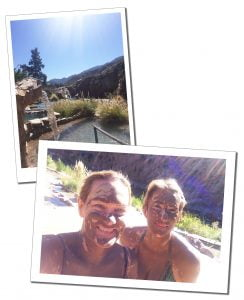 SueWhereWhyWhat & friend visited a Day in the Hotel & Spa at Termas Cacheuta, Mendoza, Argentina