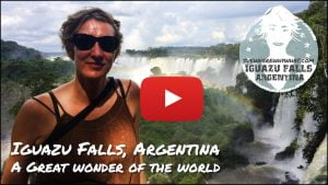 Iguazu Falls from the Argentina side. A great natural wonder of the world - Argentina, South America