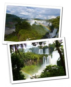 A First Timer's Guide to Argentina, The beautiful Iguazu Falls, look like a glimpse into pre-history a mass of rainbows, spray and lush green vegetation