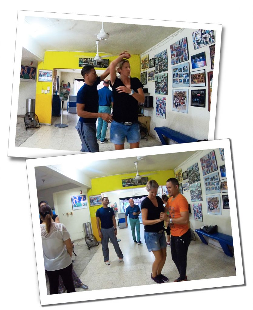 SueWhereWhyWhat learns Merengue (which is a bit like Salsa) - the most popular dance in Dominican Republic