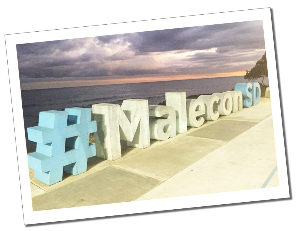Malecon concrete sign, Santo Domingo, Dominican Republic