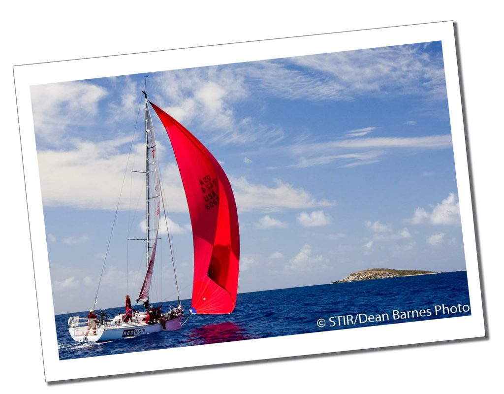 SueWhereWhyWhat & her crew, in an official photo, taking part in the St.Thomas's Regatta, St.Thomas's, BVI
