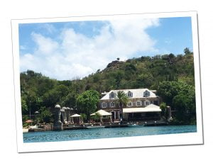 The Quay stands bathed in sunshine at Nelsons Dockyard, Antigua, Caribbean