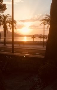 Sunrise, Puerto Pollensa Beach
