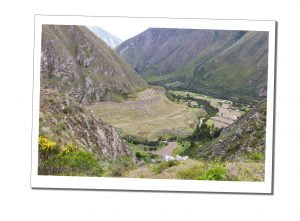 An early picture of The Valley at the start of the ascent, day 1, Inca Trail, Peru