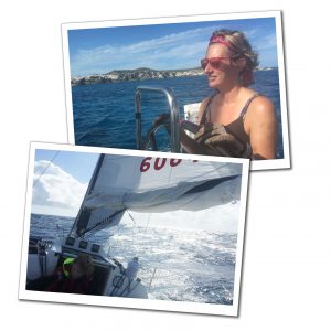 Suewherewhywhat sailing Red hot yacht, Caribbean