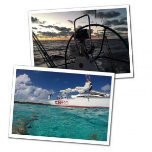 A view of the wheel of Red hot yacht, Caribbean, Best of the Bahamas