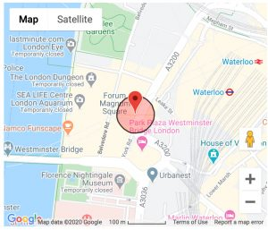 Google Map of County Hall, London