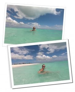 SWWW in the turquoise sea off Princess Diana beach. Everything You Need To Know Before Visiting Barbuda