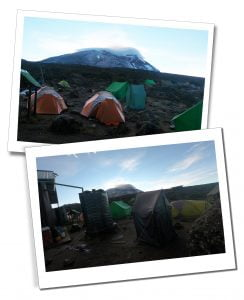 Tents at Shira Camp 2 - What To Expect When Climbing Mount Kilimanjaro