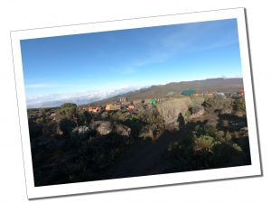 A view of Shira Camp 2 after leaving - What To Expect When Climbing Mount Kilimanjaro