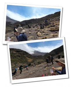 Lunch in Karanga Valley - What To Expect When Climbing Mount Kilimanjaro