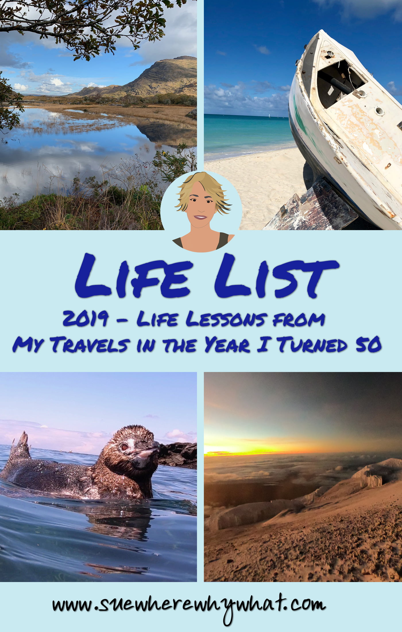 2019 – Life Lessons from My Travels in the Year I Turned 50