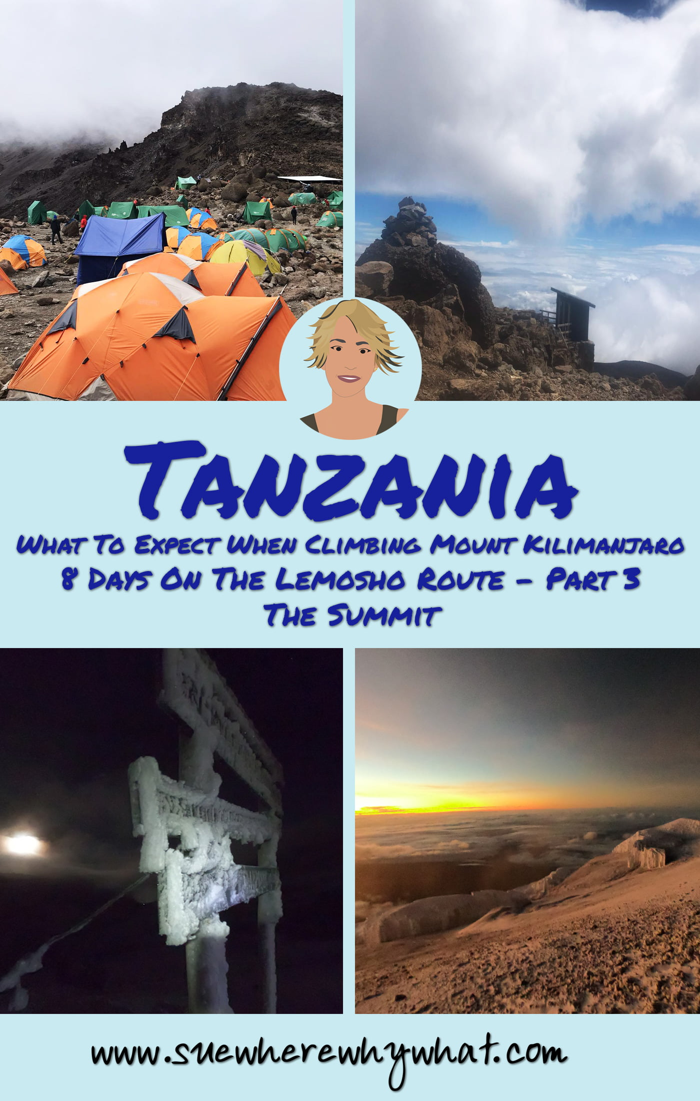 What To Expect When Climbing Mount Kilimanjaro. 8 Days on the Lemosho Route - Part 3 The Summit