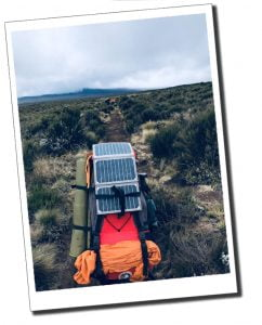 Solar panelled tech for the climb of Mount Kilimanjaro
