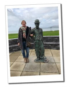 SWWW and Charlie Chaplin, Waterville, Ireland's Beautiful Wild Atlantic Way in 5 Days – Kerry & Cork