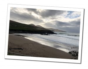 The Beach on an overcast day, St-Finians, Ring of Kerry, Ireland
