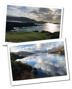 The sea and lakes on The Ring of Kerry, Ireland - Ring of Kerry Itinerary