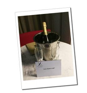 Sometimes a complimentary treat awaits you on arrival - Travel for singles over 40