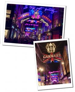 The World Famous Carnaby Street Sign, London