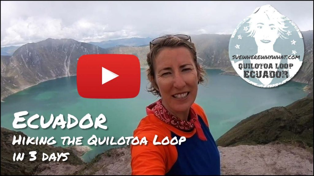 SWWW Hiking the Quilotoa Loop Title