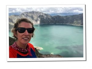 SWWW at Lake Quilotoa - Top 16 Tips for Hiking as a Woman Alone