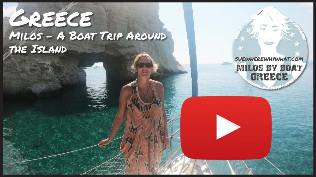 Milos - A Boat Trip Around the Island - Greece, Europe