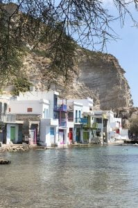 Klima, Island Hopping in the Cyclades – The Perfect Greek Island Itinerary Quarter Pin