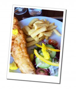 Fish and Chips - Everything You Need to Know to Ride & Photograph the Hogwarts Train Scotland