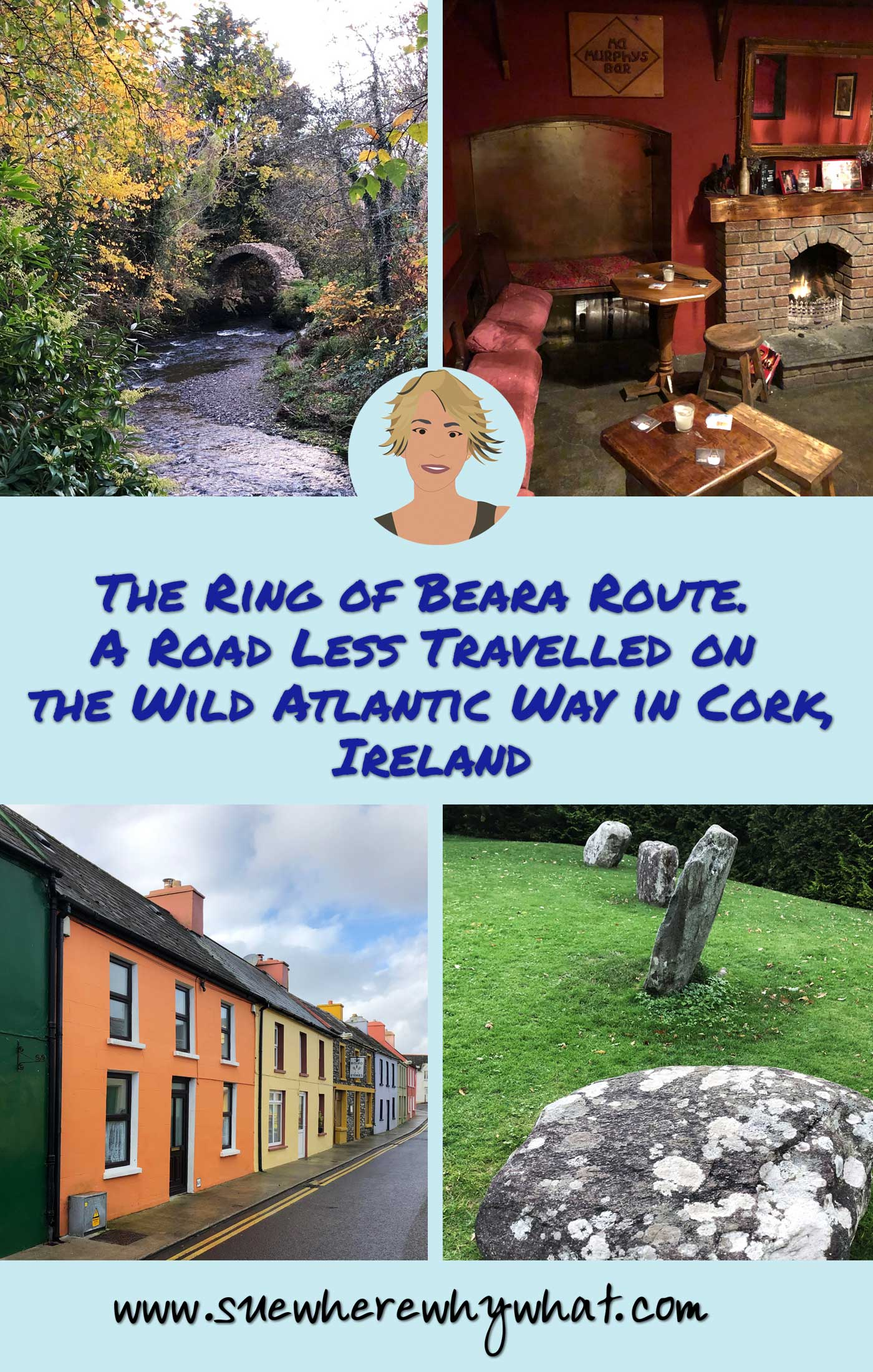 The Ring of Beara Route. A Road Less Travelled on the Wild Atlantic Way in Cork
