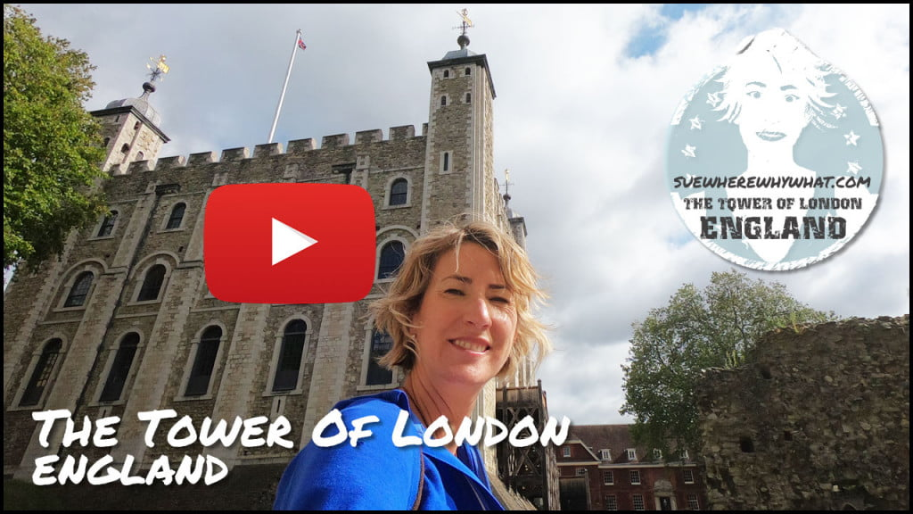 Sue Where Why What Tower of London video diary