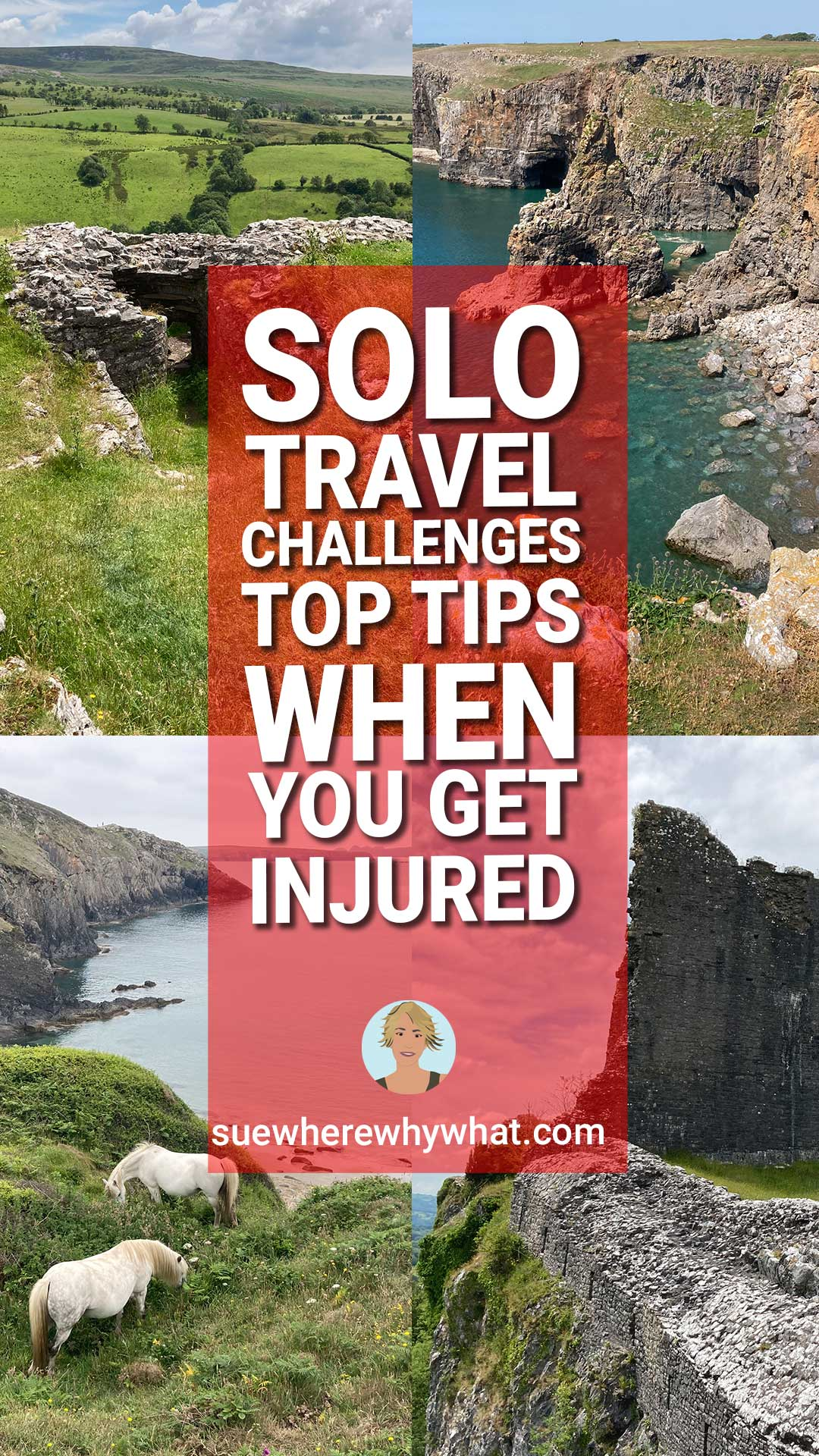 Disadvantages of travelling alone – What happens when you get injured?